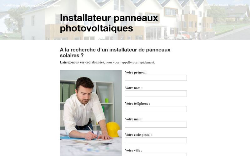 Qui contacter pour une installation de panneaux solaires ?